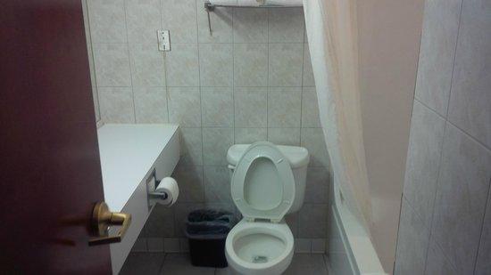 Super 8 Grayson: The Bathroom