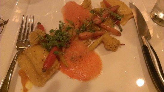 Yachtsman Steakhouse: Carrot Agnolotti