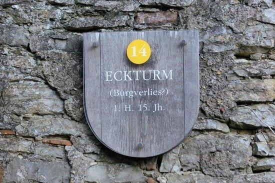Schloss Hornberg: Eckturm