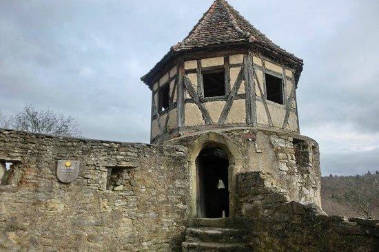 Schloss Hornberg: der Eckturm