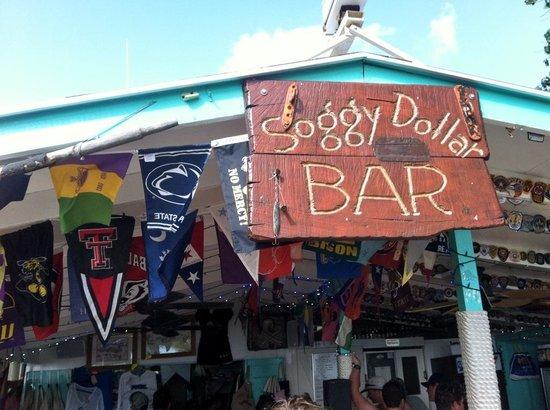 Soggy Dollar Bar: We Are!