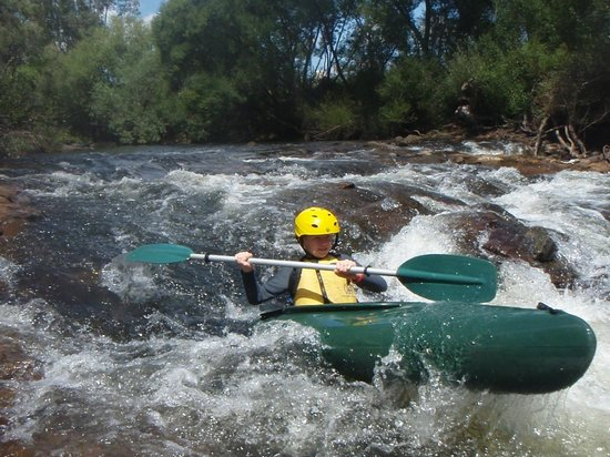 Porepunkah, Australië: Kayaking the Ovens River
