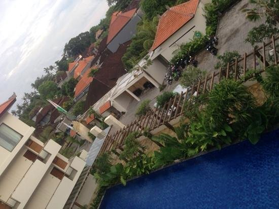 Taksu Sanur Hotel: view from balcony