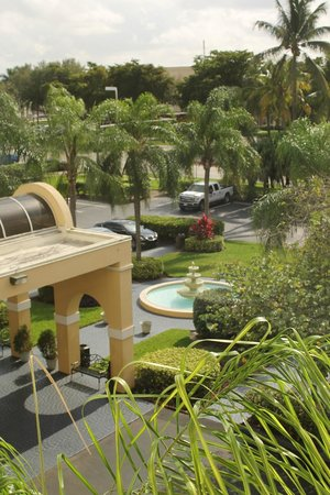 La Quinta Inn & Suites Miami Lakes: view from the room