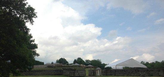 Fort Ligonier: General view