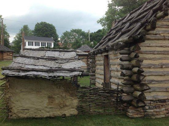 Fort Ligonier : View with modern housing