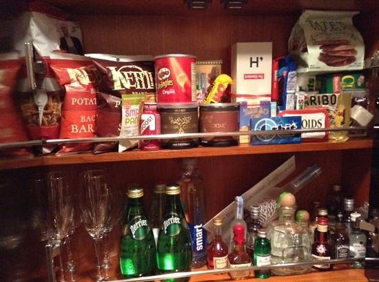 The Standard, High Line: I don't think there's enough in the minibar