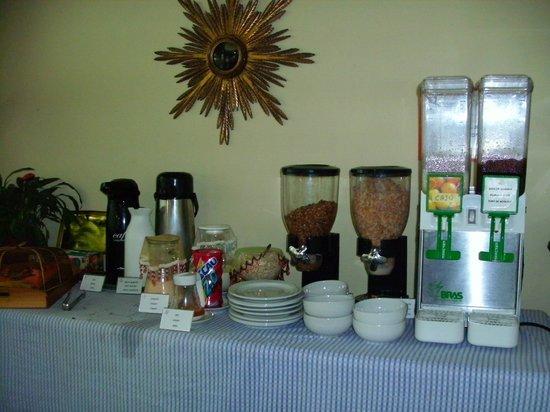 Hostel Marina dos Anjos : Para un rico desayuno