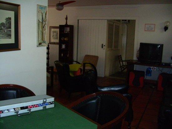 Hostel Marina dos Anjos : Sala de estar