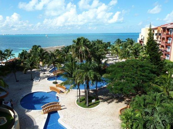 Fiesta Americana Villas Cancun : View from Balcony on 5th floor