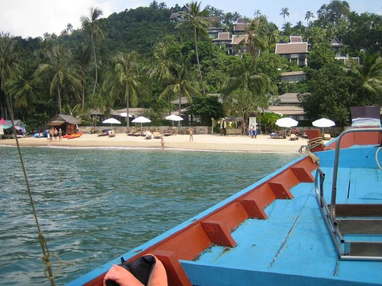 The Sunset Beach Resort & Spa, Taling Ngam: View from the Long Tail Boat