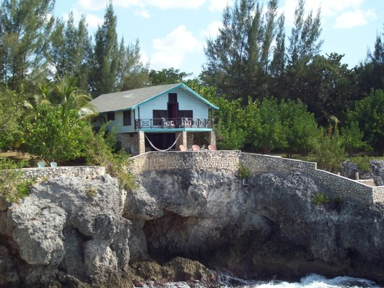 The Cove House, from one of Citronellas peninsulas