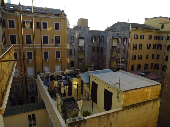 Giorgina : View from the window of our room