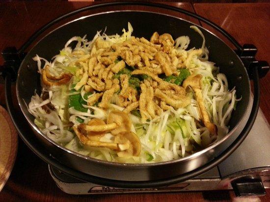 Tonosawa Ichinoyu Shinkan: Hotpot Dinner