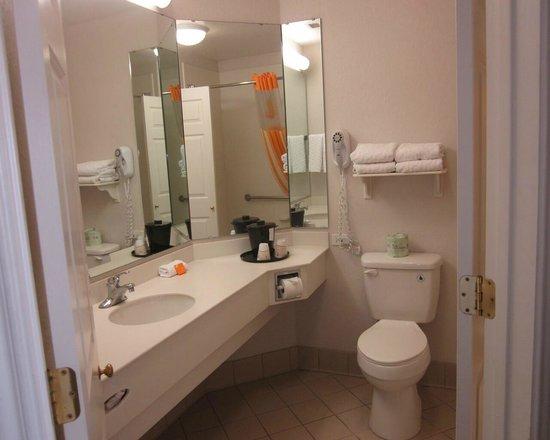 La Quinta Inn & Suites Orlando Airport North : bathroom