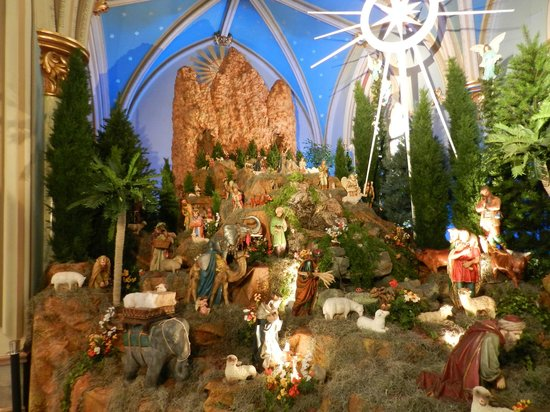 Cathedral of St. John the Baptist: Nativity scene