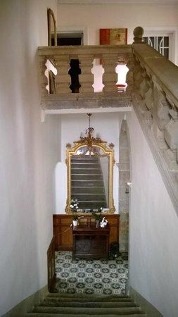 Château de Puichéric : Cage d'escalier