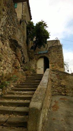 Château de Puichéric : Entrée