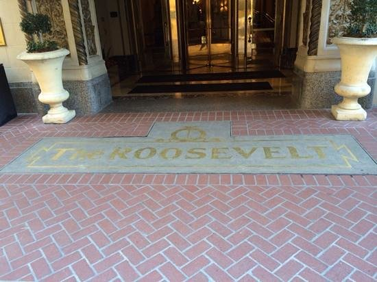 The Roosevelt New Orleans, A Waldorf Astoria Hotel: Entrance