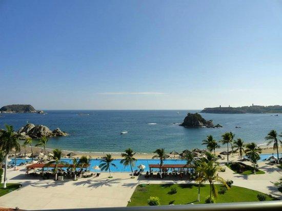 Dreams Huatulco Resort & Spa : ocean view