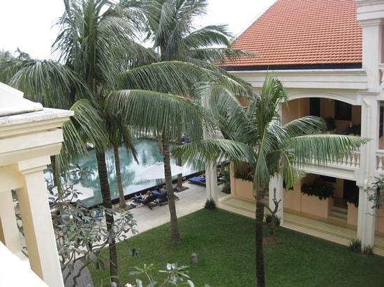 Anantara Hoi An Resort: View from our upstairs Deluxe room