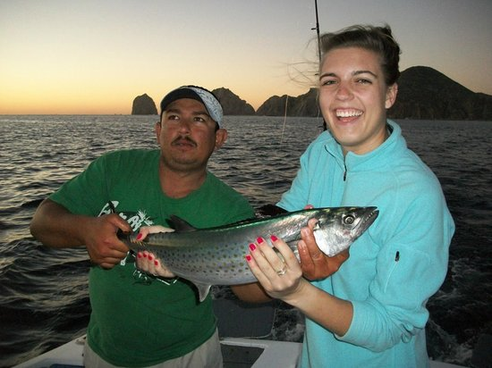 Fish On - Private Charters: Our fisher girl!!