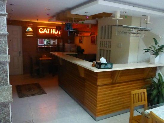 Cat Huy Hotel: Breakfast area - main level