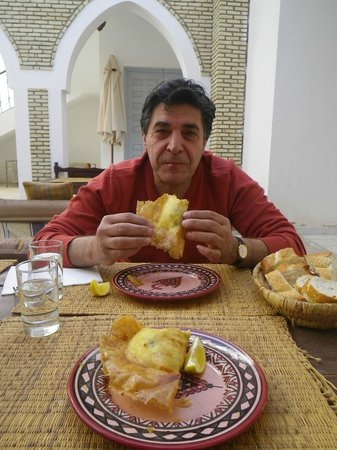 Lunch at le Minaret