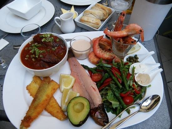 Beach House at Bayside: seafood platter
