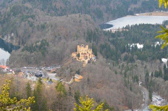 Schloss Hohenschwangau: ma photo Hohenschwangau
