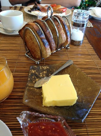 Chestnut Lane Cottage: Kate's toast