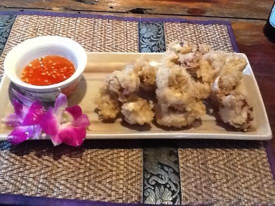 Shanti Lodge - Phuket: calamari