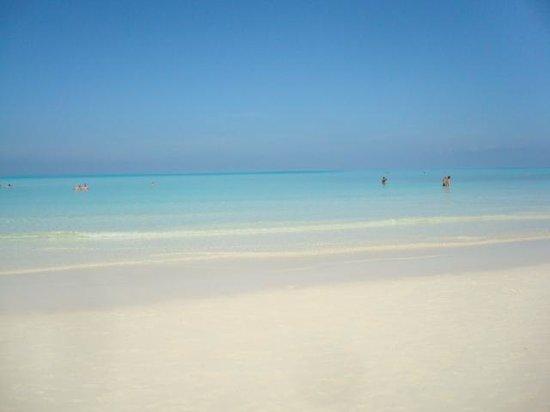 Memories Paraiso Beach Resort : Beach was amazing!
