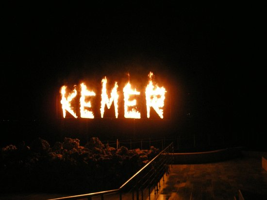 Club Med Kemer: Your last night in Kemer..snif,snif!