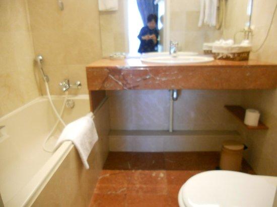 Hotel l'Esplanade : バスルーム