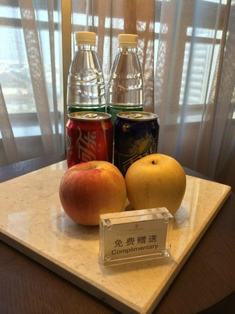 Windsor Park Hotel: Welcome Gift