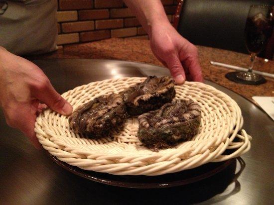 Beefsteak Kawamura, Ginza: ステーキ