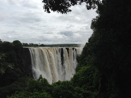 The Victoria Falls Hotel: The Falls in January 2014