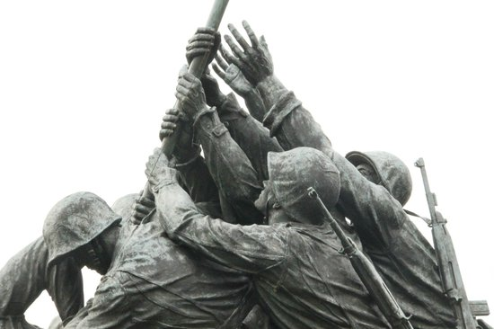 U.S. Marine Corps War Memorial: Group effort