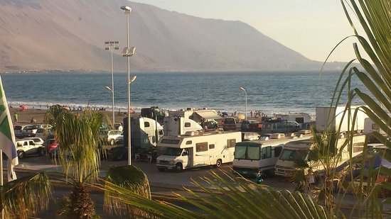 Holiday Inn Express Iquique: Vista praia!