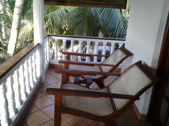 Rockside Cabanas Hotel: балкон