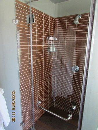 Majeka House: shower