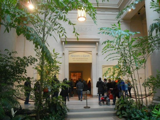 National Gallery of Art: Entrance to the exhibition