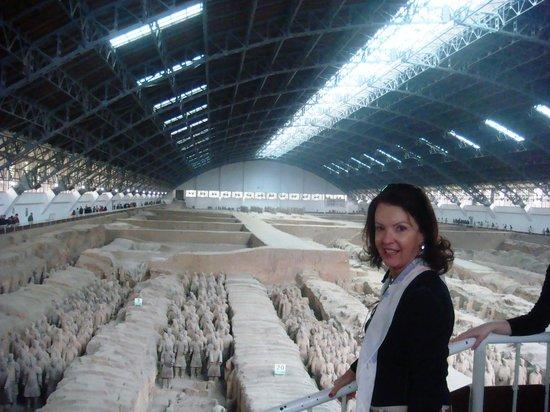 Xi'an City Wall (Chengqiang): Os guerreiros terracotas