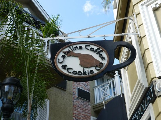 Beautiful day at Catalina Coffee & Cookie Co.