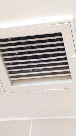 Radisson Hotel Duluth - Harborview: Broken Exhaust Fan