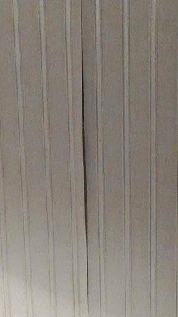 Radisson Hotel Duluth - Harborview: Peeling Wallpaper
