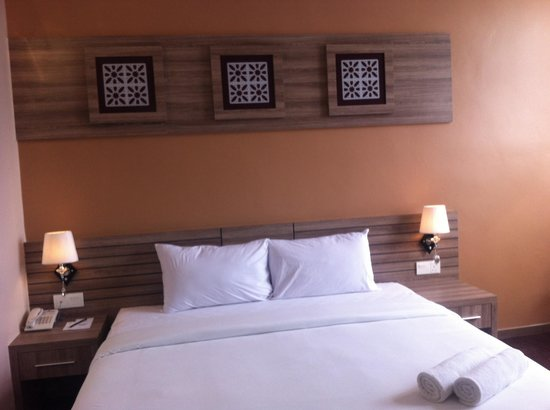 HIG Hotel: Our room