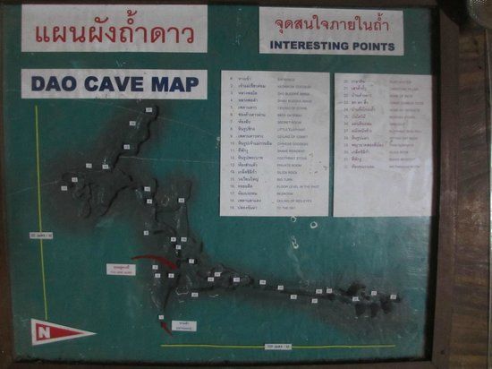 Cave Dao: Cave Map