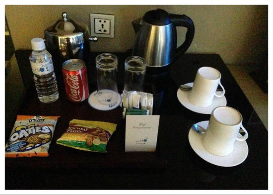 Hotel H2O: Complimentary items